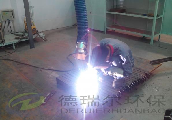 德瑞尔焊接烟尘净化器使用效果