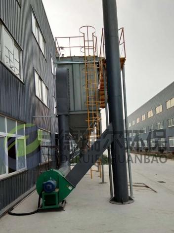 熔炼炉高温除尘项目