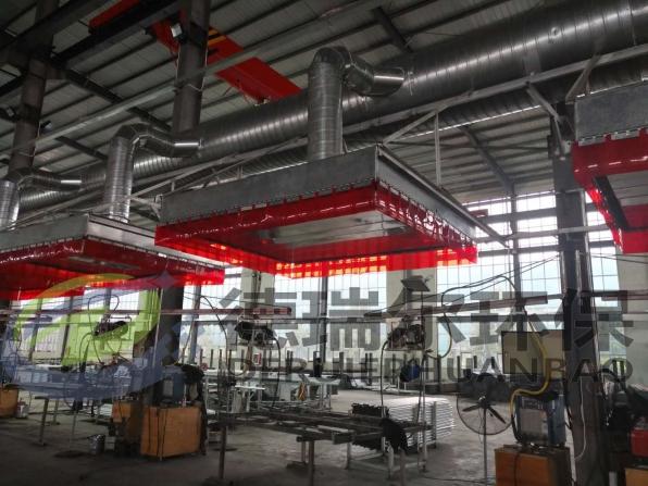 大型钢构焊接烟尘治理项目