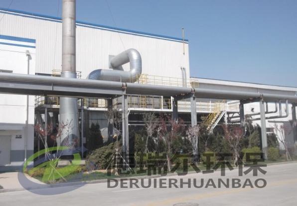 喷涂线废气催化燃烧项目