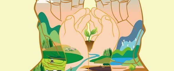 珍爱美丽地球 守护自然资源