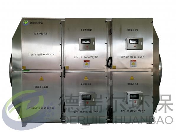 活性炭吸附+UV光解一体机设备
