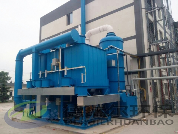 RCO废气催化燃烧成套设备