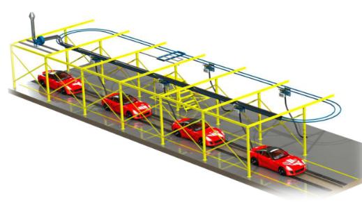 汽车尾气环保净化系统